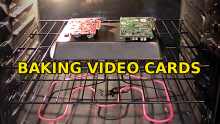 baking video cards