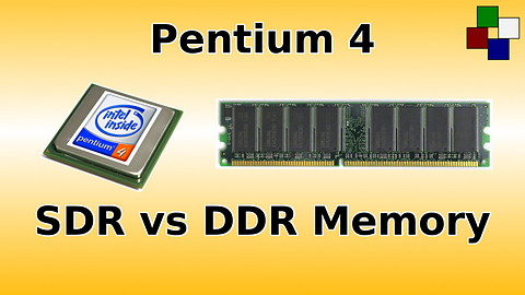 Pentium4 sdr ddr memory